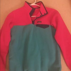 Last chance Neon Pink and Turquoise Patagonia